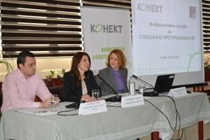 Информативна средба за социјално претприемништво во Македонија